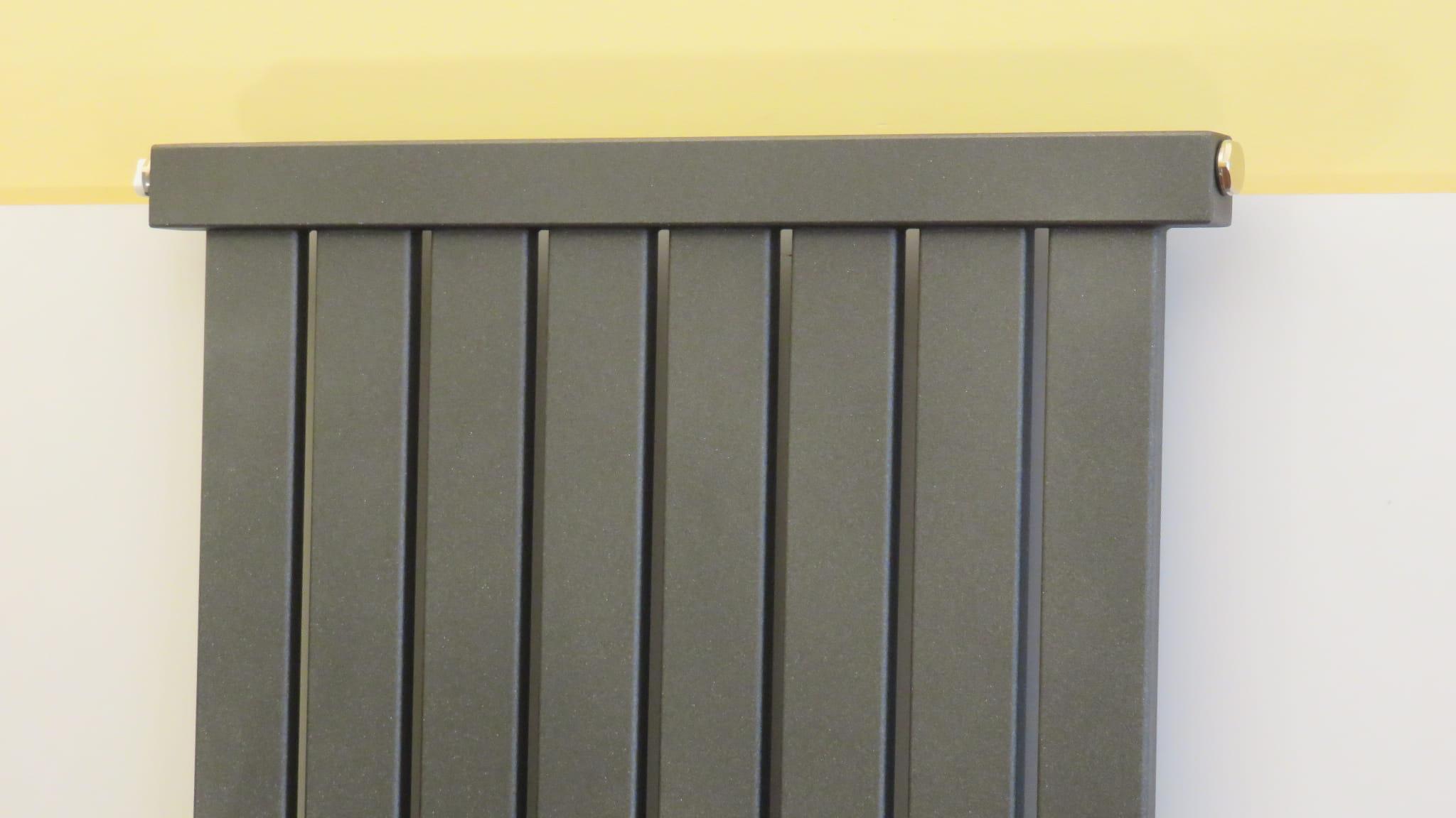 Grzejnik Dekoracyjny Pionowy 1500x400 Grafit Vertical 2
